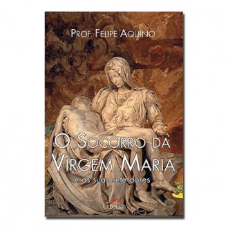 LIVRO O SOCORRO DA VIRGEM MARIA E AS SUAS SETE DORES - FELIPE AQUINO