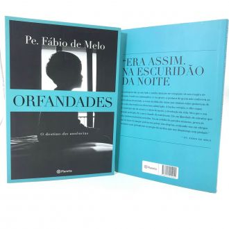 LIVRO ORFANDADES - PADRE FÁBIO DE MELO