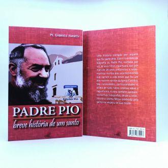 Livro Padre Pio: Breve história de um santo - Padre Gabriele Amorth