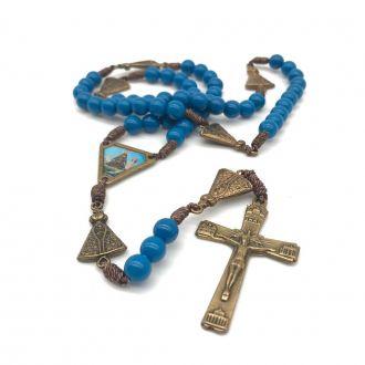 Terço de Nossa Senhora de Aparecida Azul