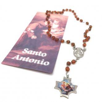 Terço de Santo Antônio com Folheto de Oração