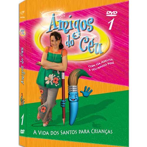 DVD - Amigos do Céu 1 - Adelita Frulane