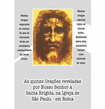 As quinze orações de Santa Brígida