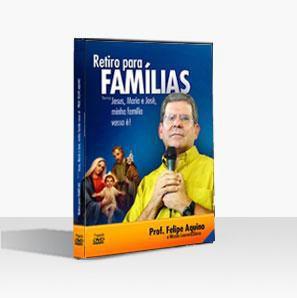 DVD Retiro para as Famílias - Jesus, Maria e José, minha família vossa é! - Prof. Felipe Aquino