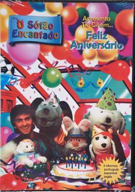DVD Sótão Encantado - Feliz Aniversário - Episódio 8