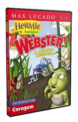 DVD HERMIE E AMIGOS - WEBSTER, A ARANHA MEDROSA