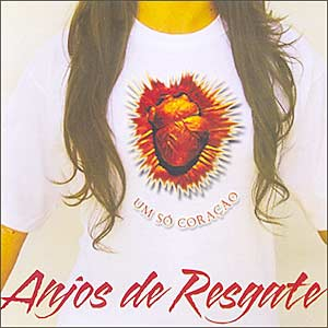 Cd Anjos De Resgate - Um Só Coração