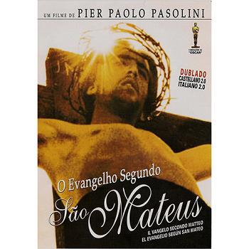 DVD O EVANGELHO SEGUNDO SÃO MATEUS - 131 MIN.