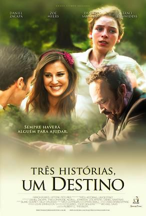 DVD TRÊS HISTÓRIAS, UM DESTINO