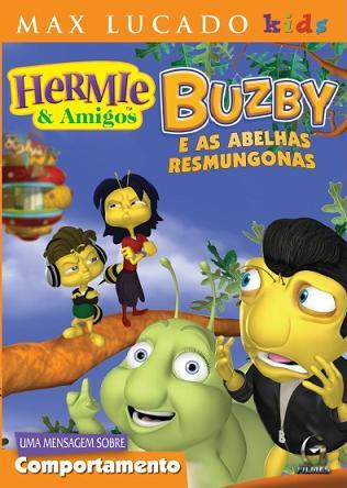 DVD HERMIE E AMIGOS - BUZBY E AS ABELHAS RESMUNGONAS