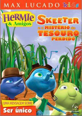 DVD HERMIE & AMIGOS - SKEETER E O MISTÉRIO DO TESOURO PERDIDO
