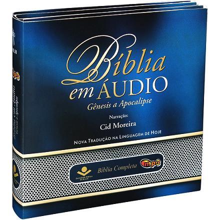 BÍBLIA EM ÁUDIO COMPLETA - MP3