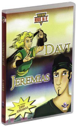 DVD HERÓIS DA FÉ - DAVI E JEREMIAS