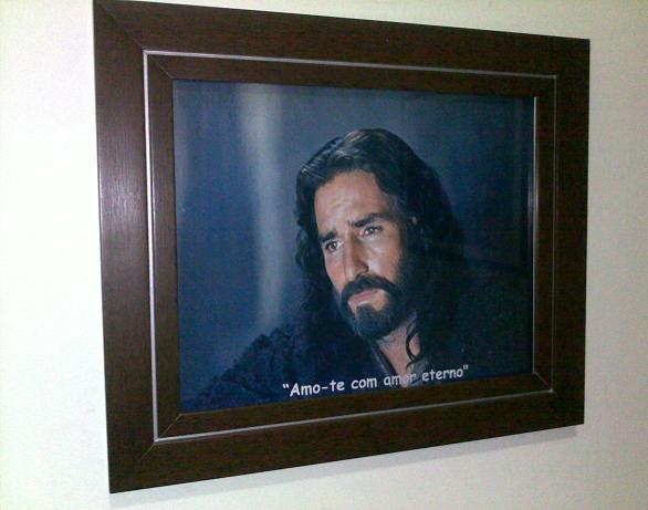 QUADRO RELIGIOSO JESUS CRISTO - MODELO 1
