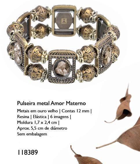 PULSEIRA METAL AMOR MATERNO