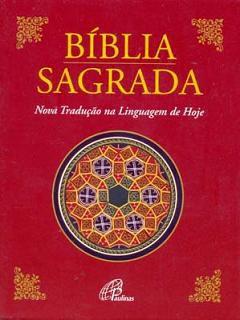 Bíblia Sagrada Nova Tradução na Linguagem de Hoje Bolso Capa Cristal
