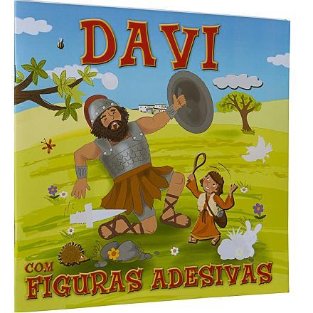 SÉRIE FIGURAS ADESIVAS - DAVI