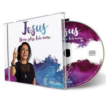 Fora De Linha - Cd Jesus Nome Sobre Todo Nome - Ana Lucia - Cn
