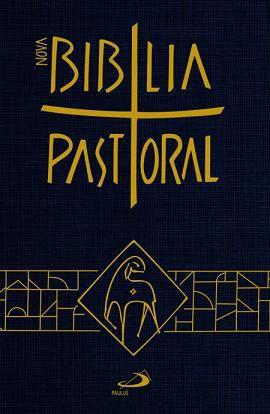 Nova Bíblia Sagrada Catolica Pastoral Média Capa Cristal Paulus