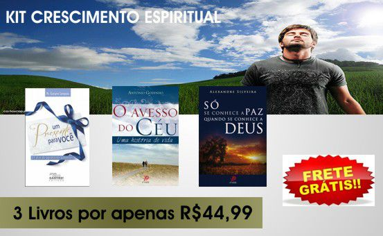 FORA DE LINHA - KIT CRESCIMENTO ESPIRITUAL