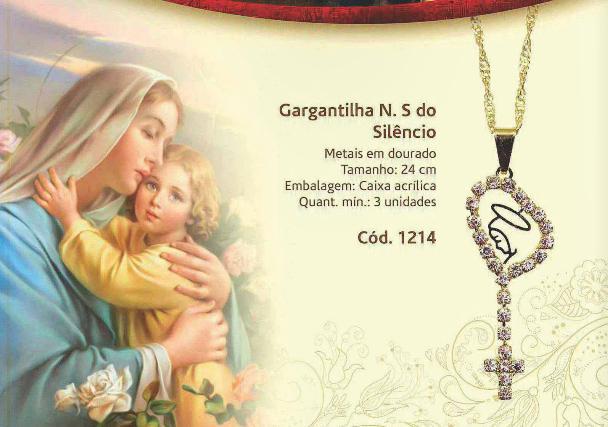 FORA DE LINHA - GARGANTILHA NOSSA SENHORA DO SILÊNCIO