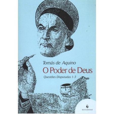 LIVRO O PODER DE DEUS - SANTO TOMÁS DE AQUINO