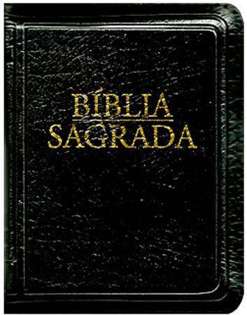 Bíblia Sagrada Nova Tradução na Linguagem de Hoje Bolso Ziper Preta