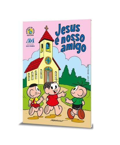 Livro Jesus É Nosso Amigo (Turma Da Monica)