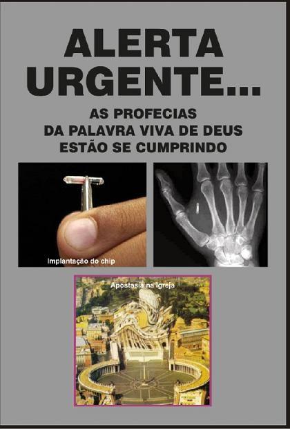 DVD ALERTA URGENTE: AS PROFECIAS DA PALAVRA VIVA DE DEUS ESTÃO SE CUMPRINDO