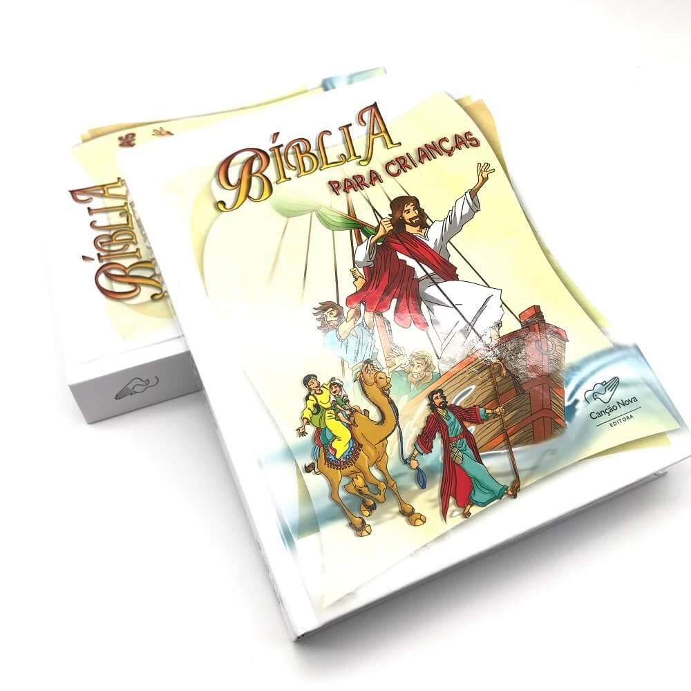 Biblia Infantil Para Crianças Ilustrada Cancao Nova