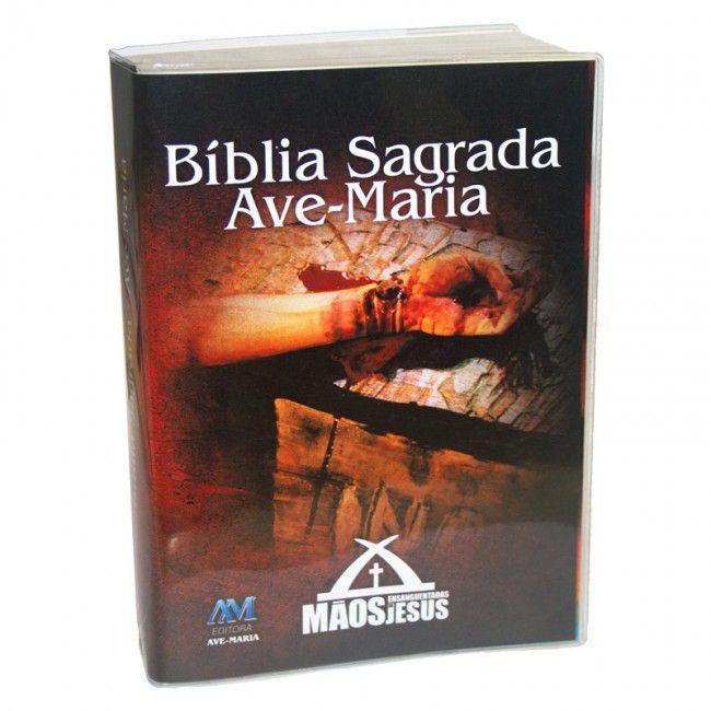 Bíblia Sagrada Das Mãos Ensanguentadas de Jesus