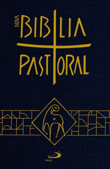 BÍBLIA SAGRADA CATOLICA PASTORAL BOLSO CAPA CRISTAL PAULUS