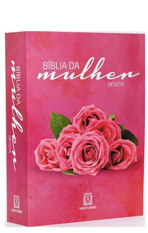 Bíblia Sagrada Da Mulher Devota Média Capa Cristal