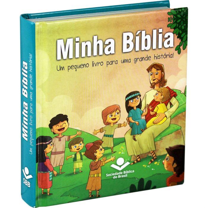 Bíblia Sagrada Infantil Minha Bíblia Capa Dura
