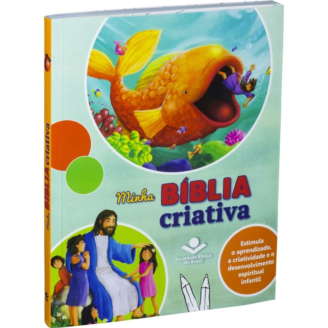 Bíblia Sagrada Infantil Minha Bíblia Criativa