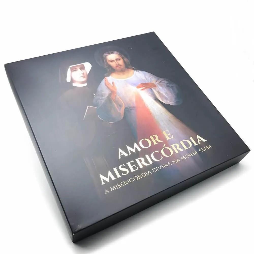 Box Diário de Santa Faustina Amor e Misericórdia Edição Especial - Capa Dura