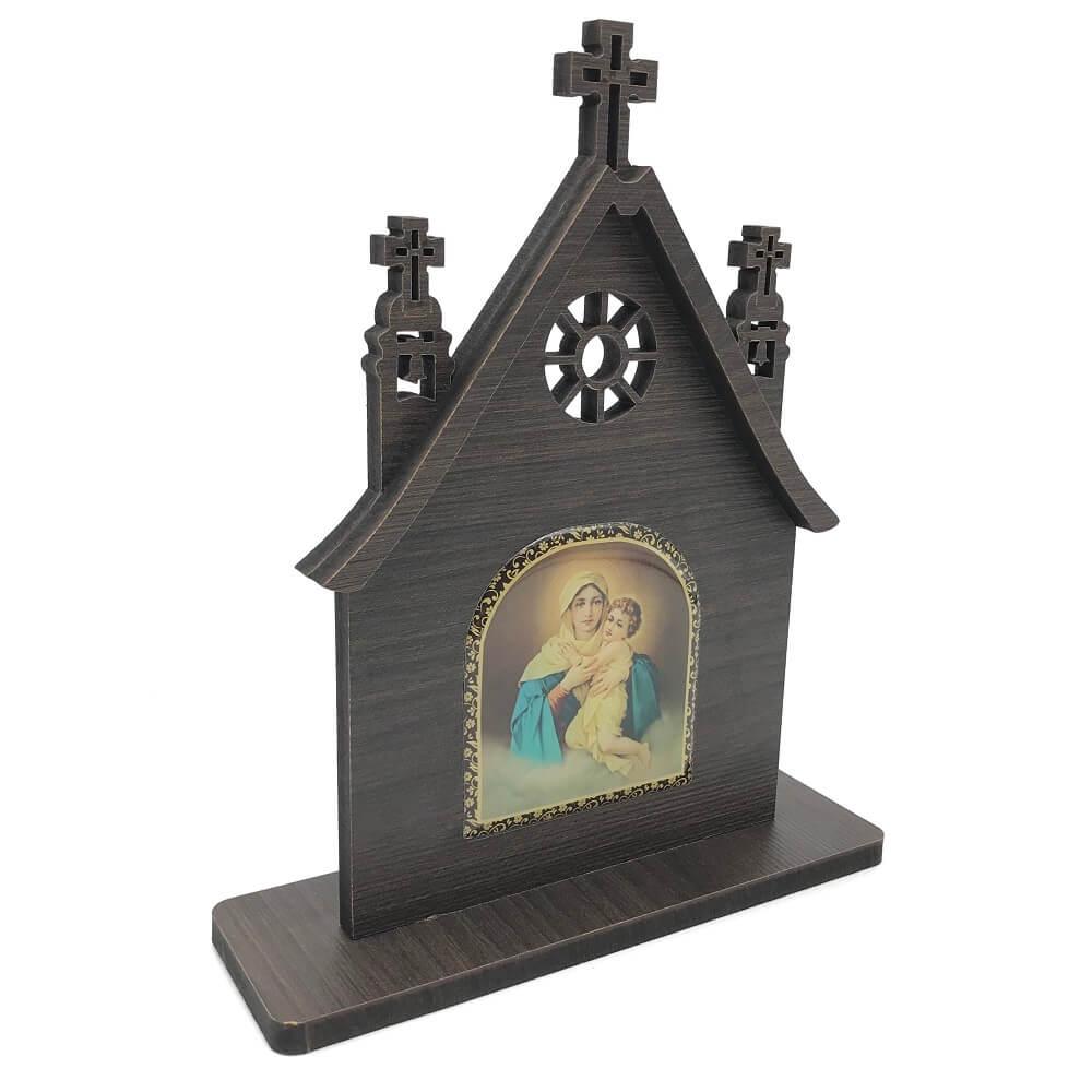 Capela Igreja Mãe Rainha Madeira MDF