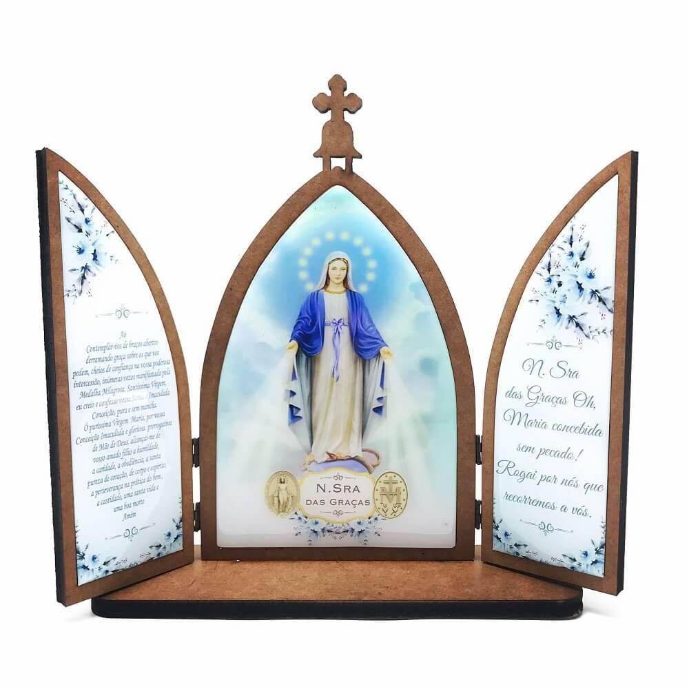 Capela Nossa Senhora das Graças Grande com Porta
