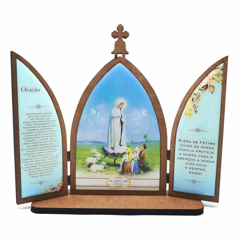 Capela Nossa Senhora de Fátima Grande com Porta
