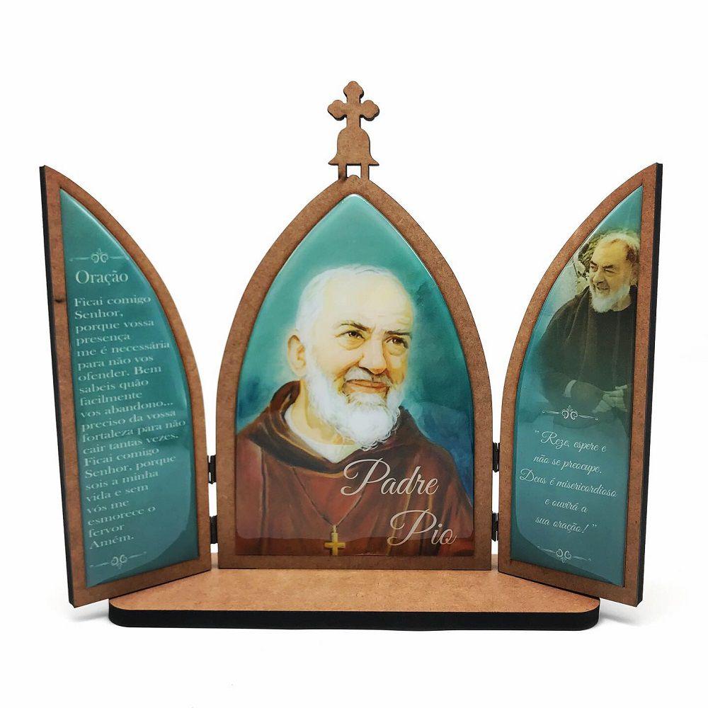 Capela Padre Pio Madeira Grande com Porta