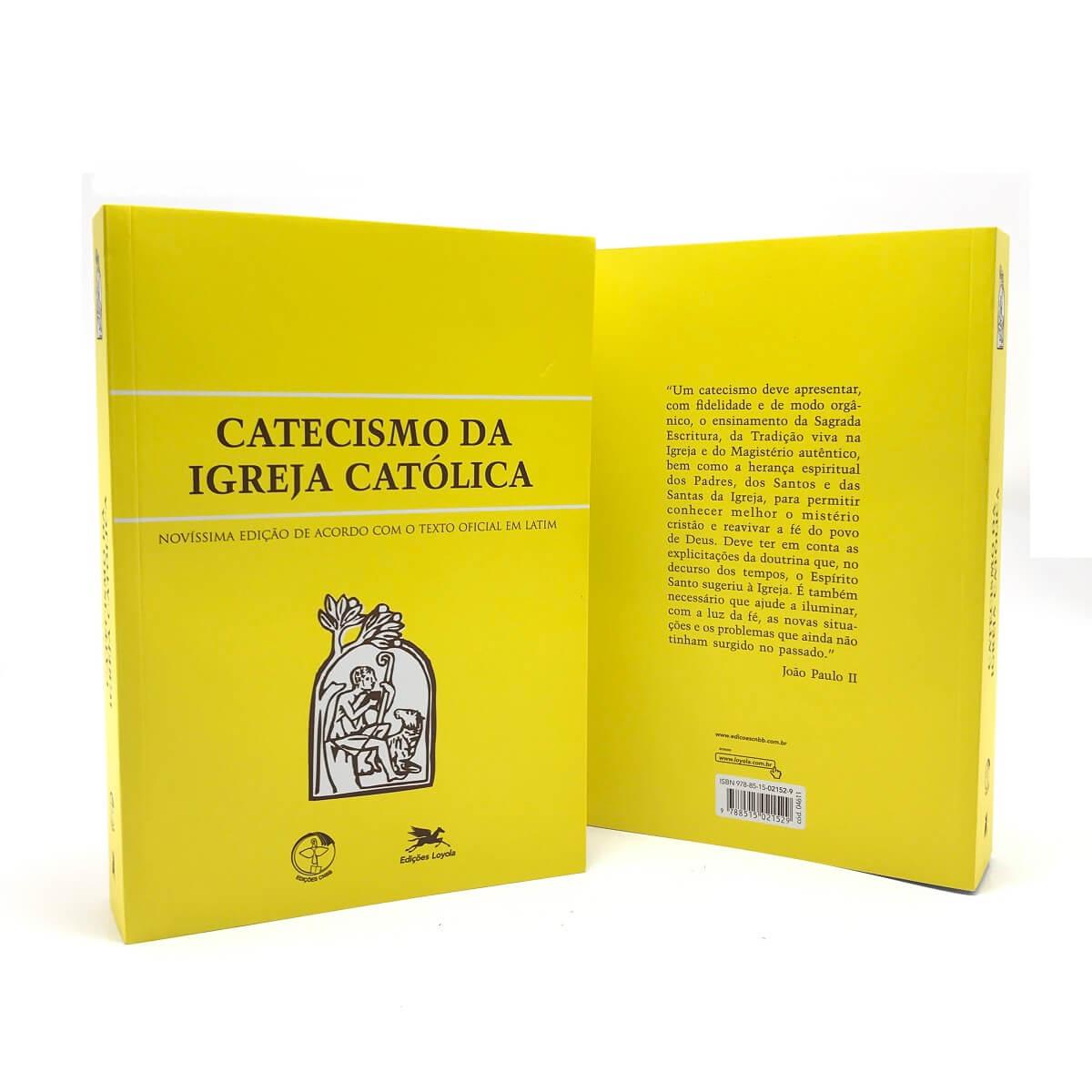 Catecismo da Igreja Católica Livro Bolso