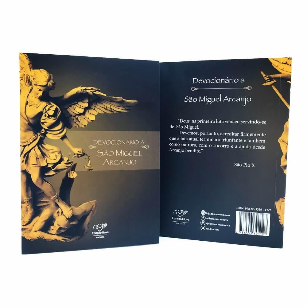 Livro Devocionário São Miguel Arcanjo Reedição