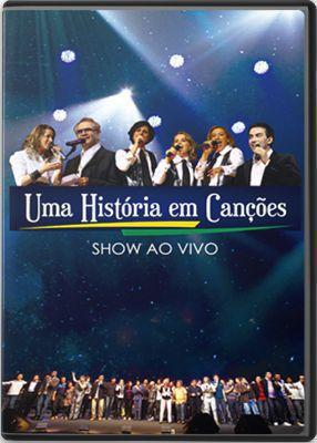 DVD UMA HISTORIA EM CANCOES - DVD DUPLO