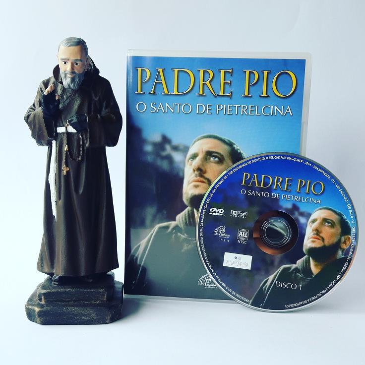 FILME PADRE PIO + IMAGEM DE SÃO PADRE PIO