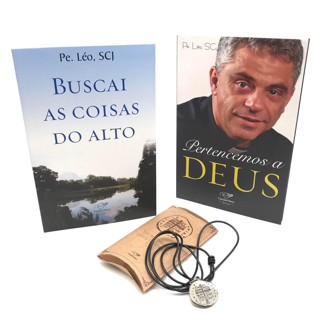 Kit Buscai as Coisas do Alto Padre Léo