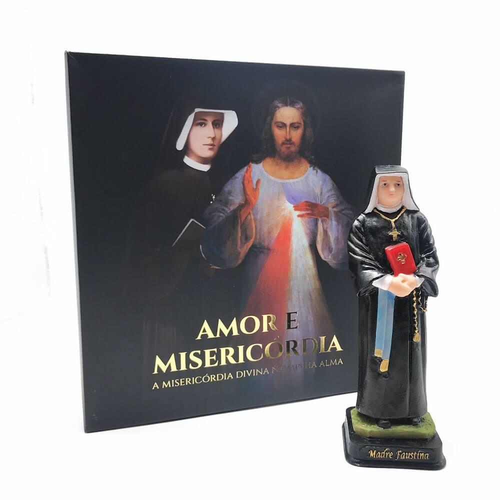 Kit Imagem e Box Diário de Santa Faustina