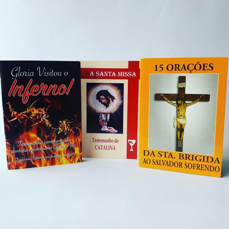 Kit Livros Os Mais Vendidos: Gloria Polo, Catalina Rivas E Santa Brigida