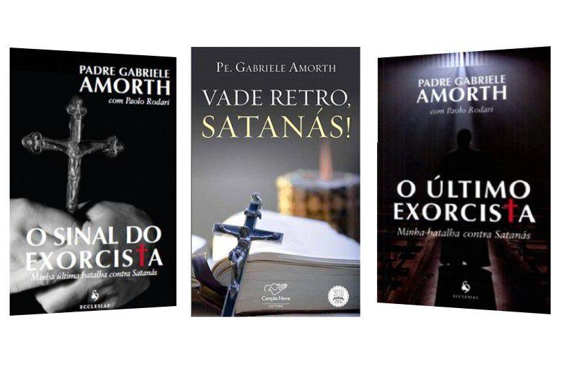 Fora De Linha - Kit O Último Exorcista + O Sinal Do Exorcista + Vade Retro Satanás