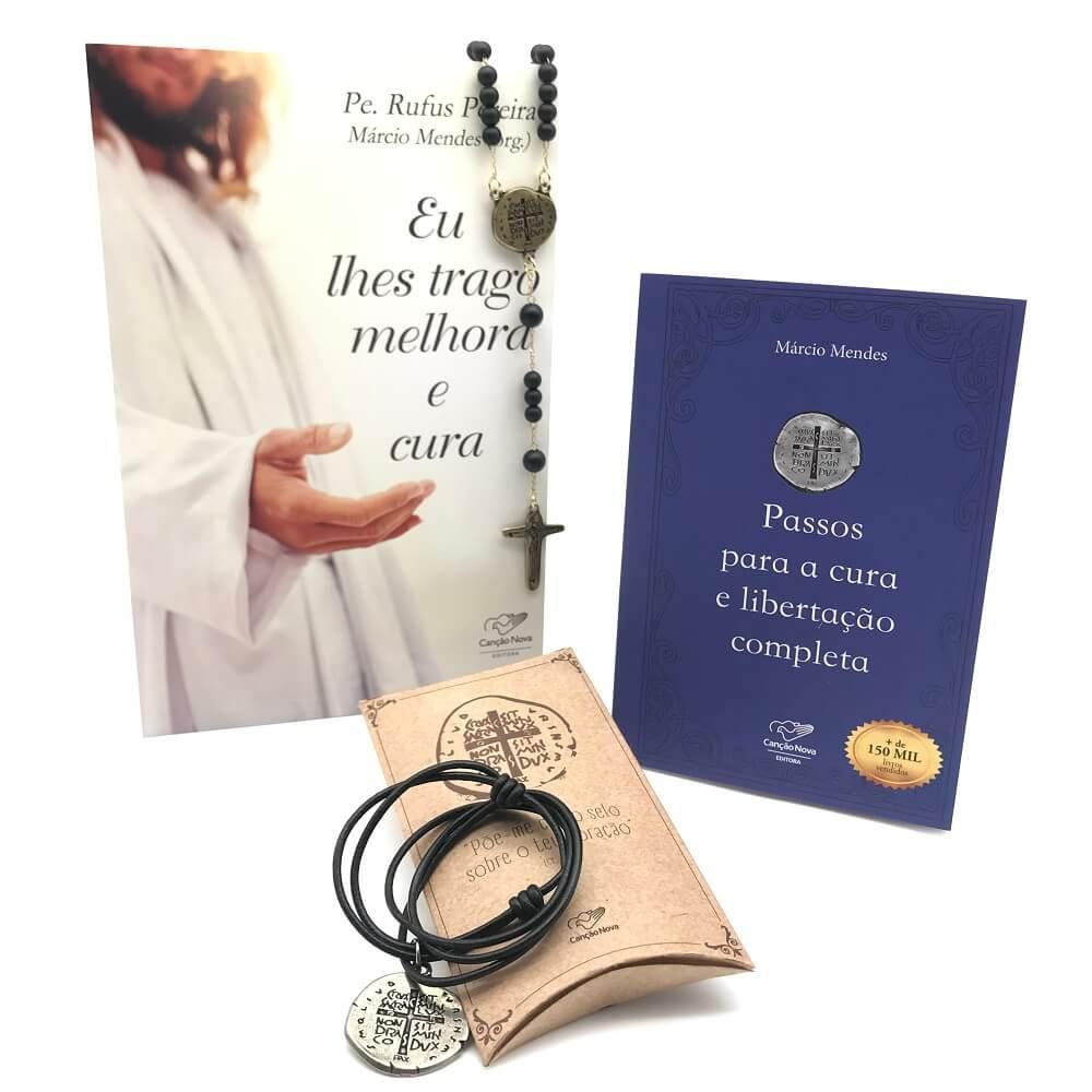 Kit Oração para Alcançar Cura e Libertação Márcio Mendes Canção Nova