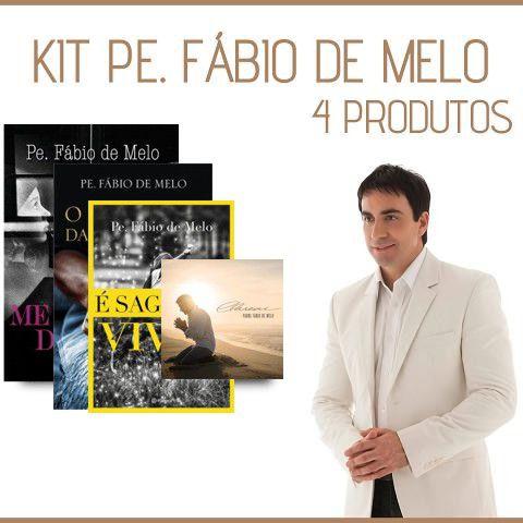 KIT PRODUTOS PADRE FÁBIO DE MELO